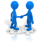 two_blue_stickmen_handshake_puzzle